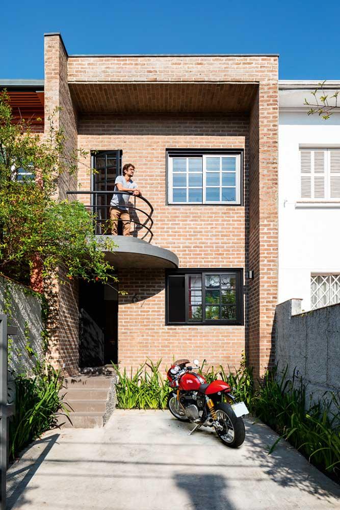Sim, os tijolinhos! Eles também transformam o visual das fachadas de casas populares