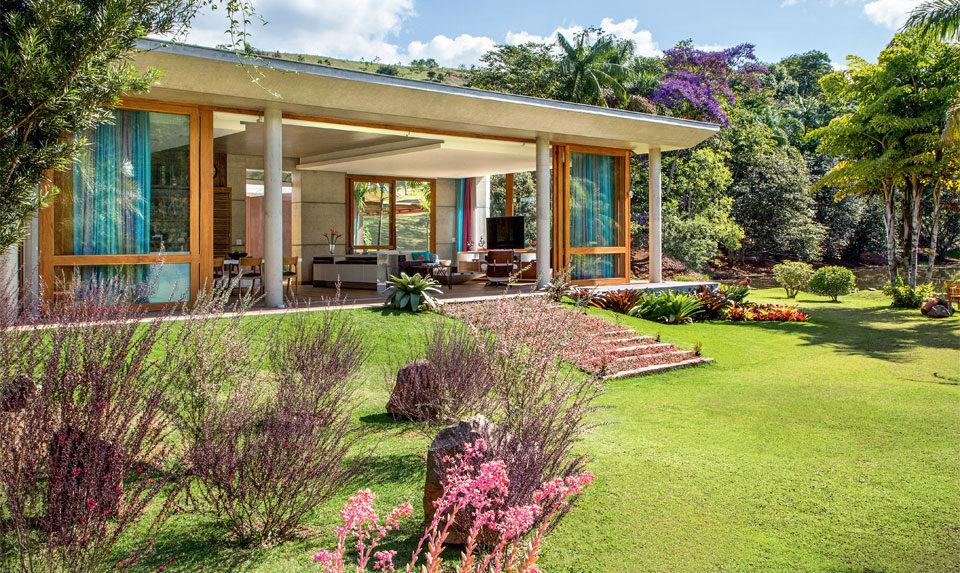 Casa de campo 100 modelos com fotos e projetos for Modelos de casas de campo sencillas