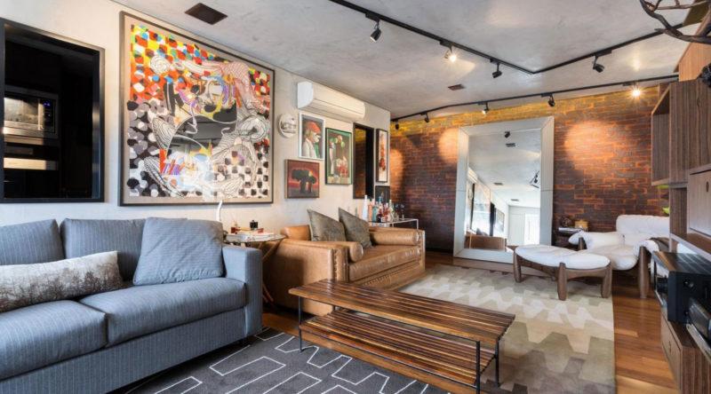 Sala para dois ambientes: projetos conectados que ampliam o espaço