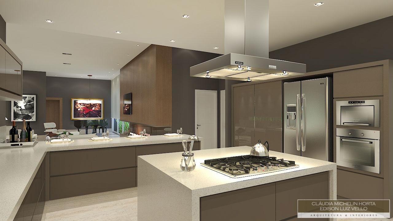 Cozinha Com Ilha Central 50 Modelos Fotos E Projetos