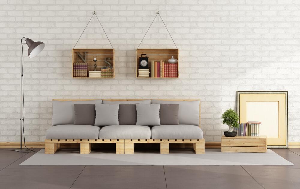 Use a madeira para a decoração do ambiente todo