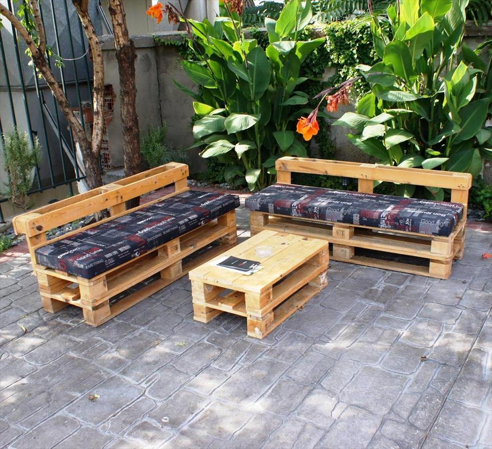 Uma dupla ideal para o jardim externo