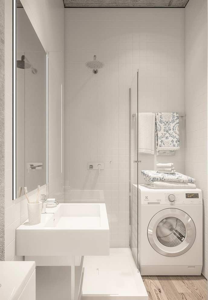 Aproveitando todo os espaços em banheiros pequenos