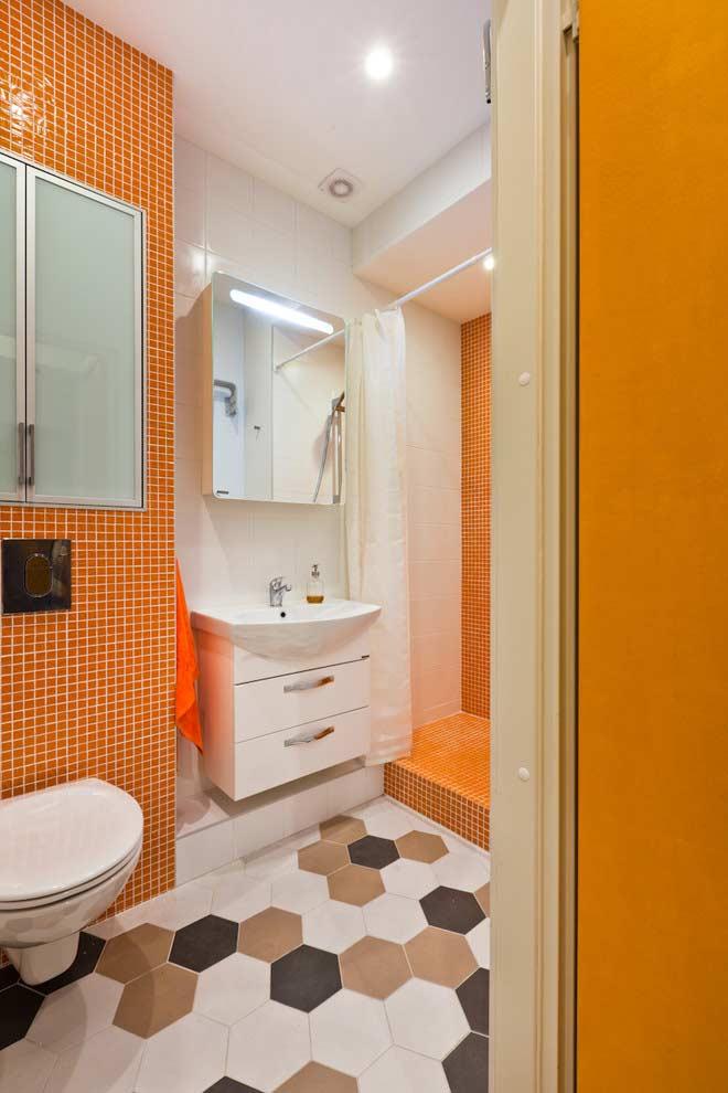 Armario De Parede Para Banheiro Pequeno : Banheiros pequenos ideias fotos e projetos incr?veis
