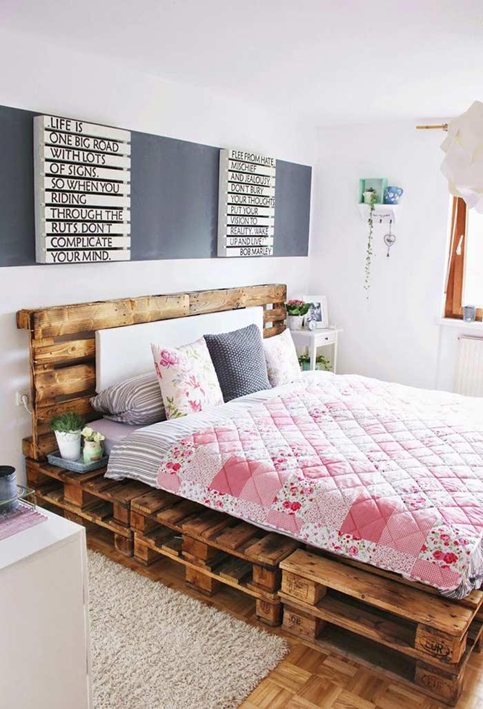 Pallets além da cama
