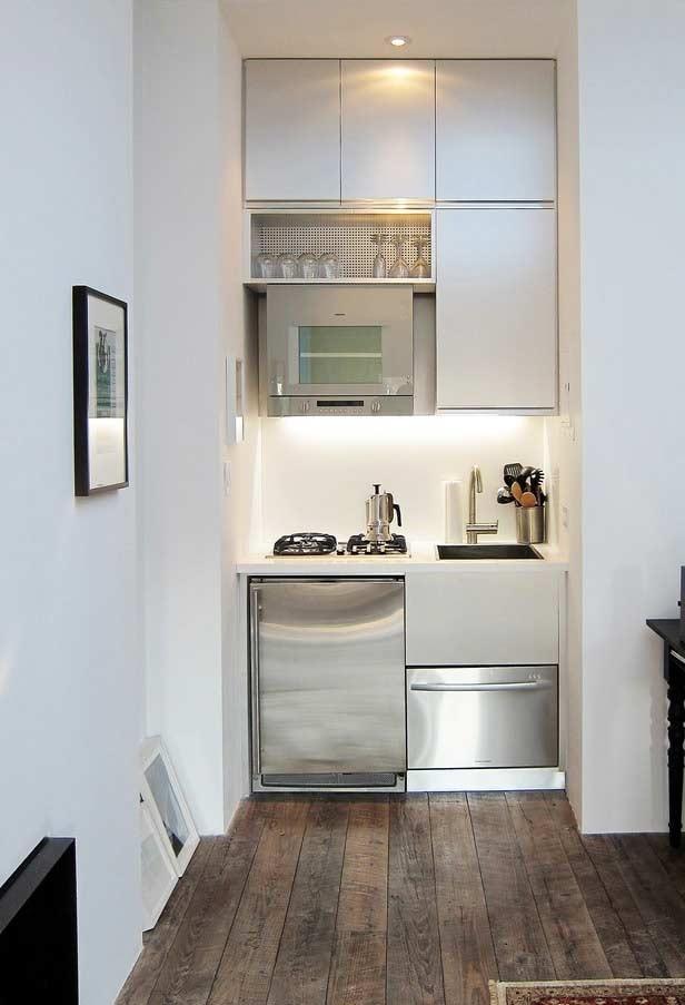 Mini-cozinha planejada