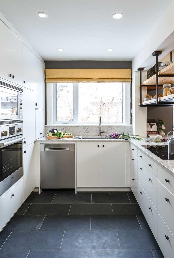 Cozinha planejada em U
