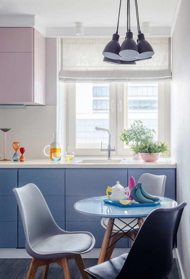 Cozinha planejada estilo candy