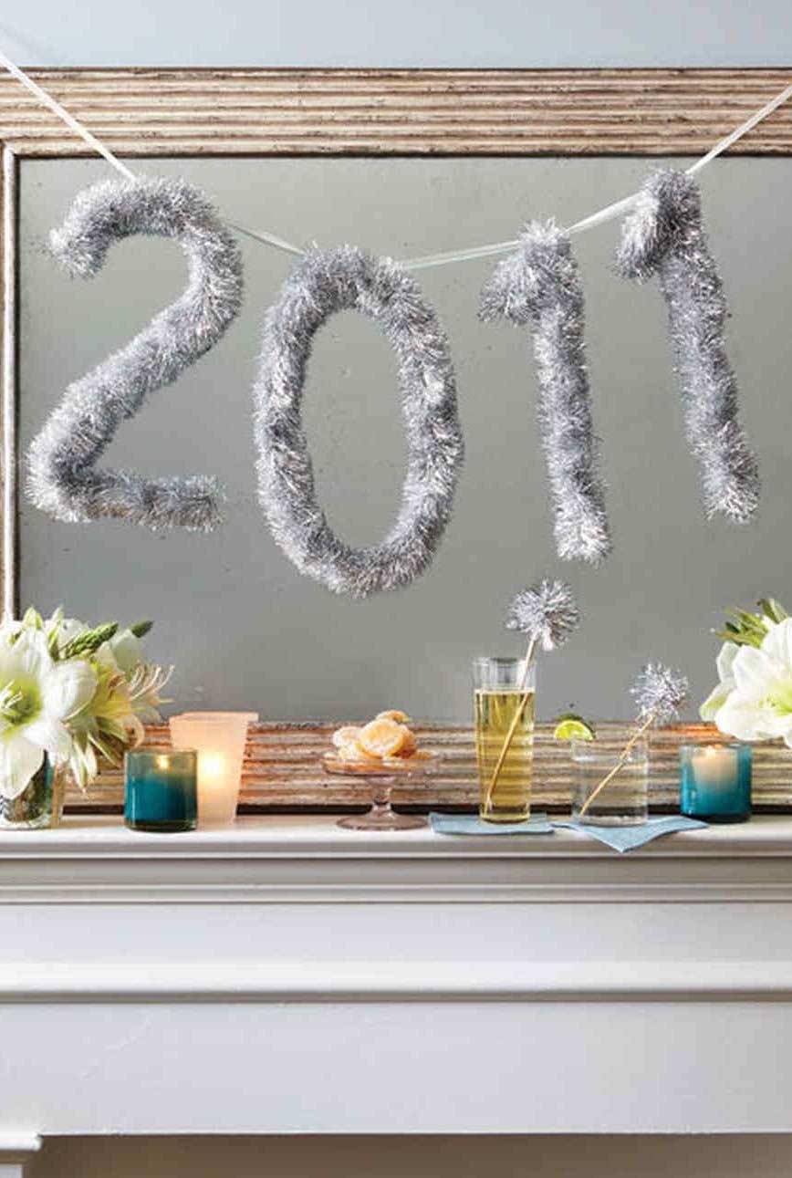 Reaproveite os itens de Natal para fazer a decoração de ano novo