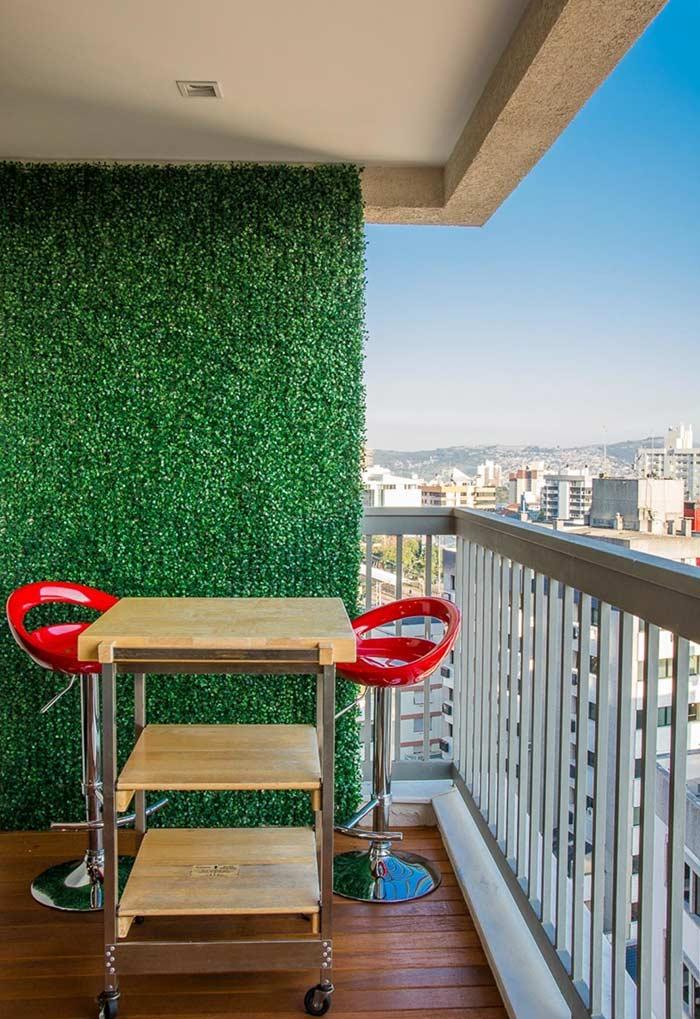 Jardim vertical artificial