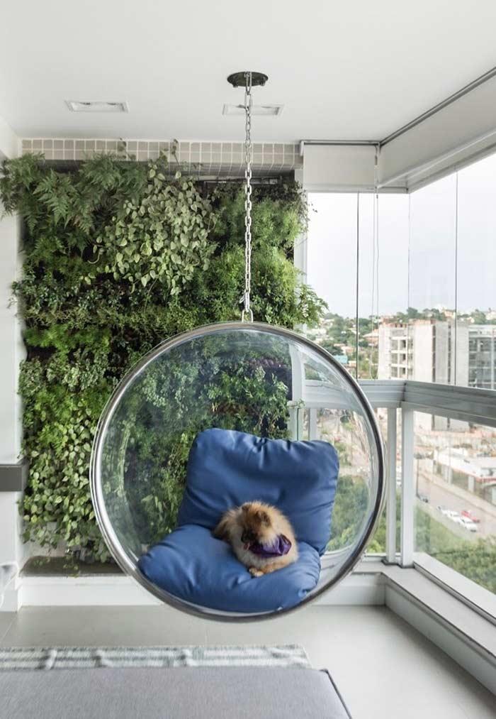 Jardim vertical para cobrir espaços vazios