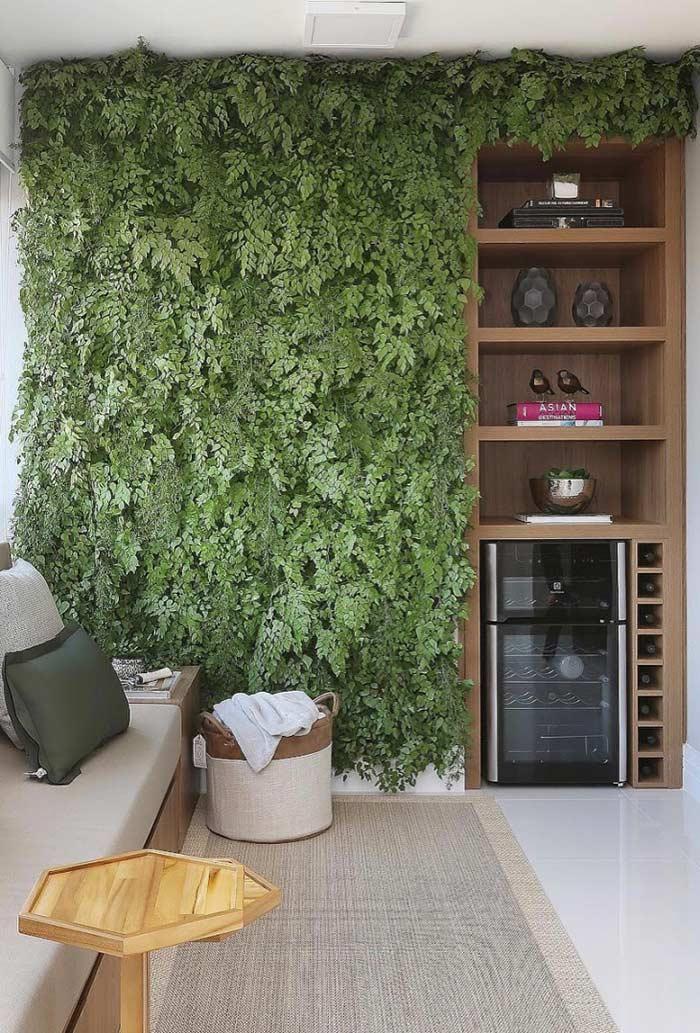 Integração com os móveis da varanda gourmet
