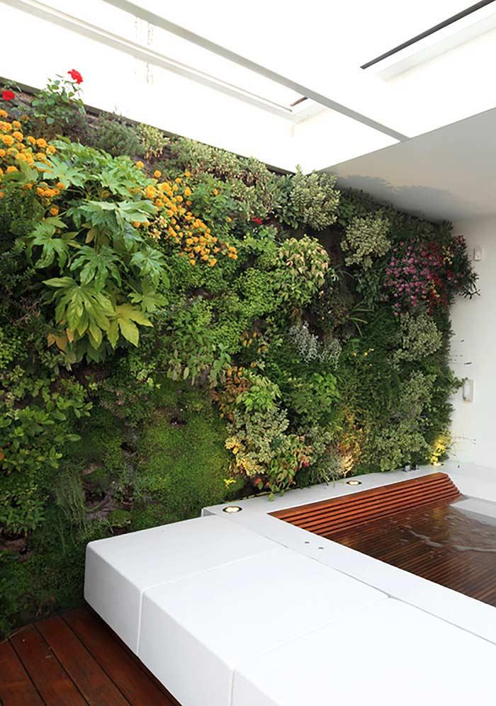 Essa cobertura da parede é ideal