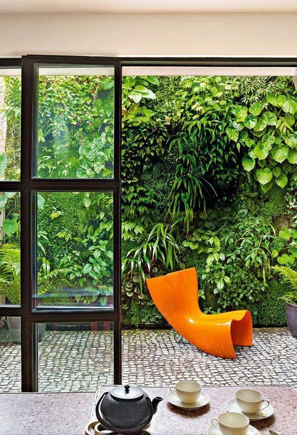 Plantas para um ar urban jungle