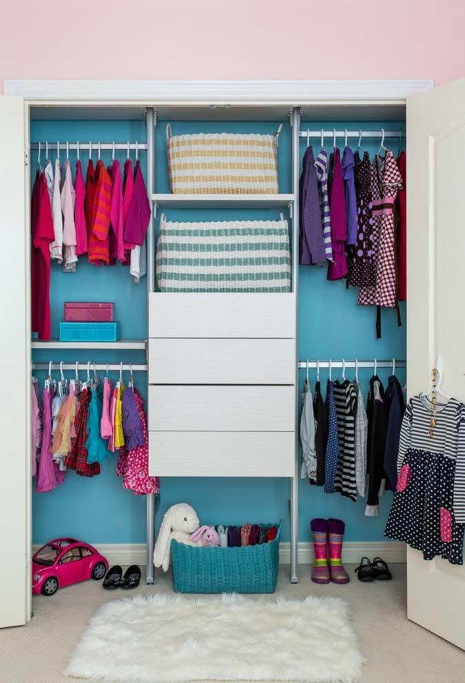 Cantinho fashion estilo mini closet