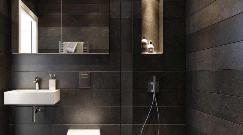 Banheiro preto e branco: fotos para te fazer querer um