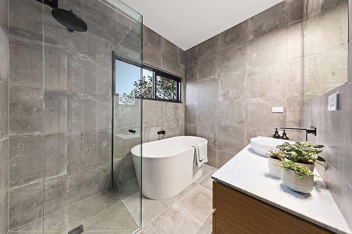 Duas áreas de banho