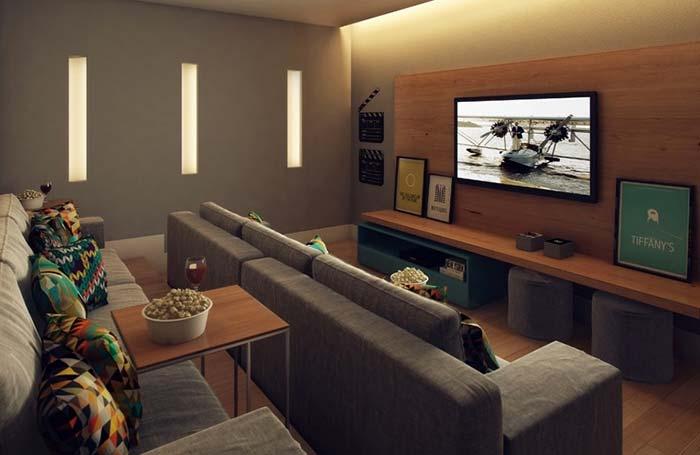 Mesinhas móveis para sala de cinema