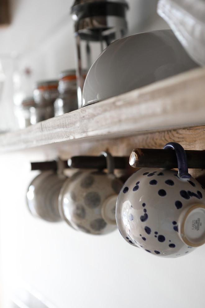 Detalhes de uma cozinha rústica