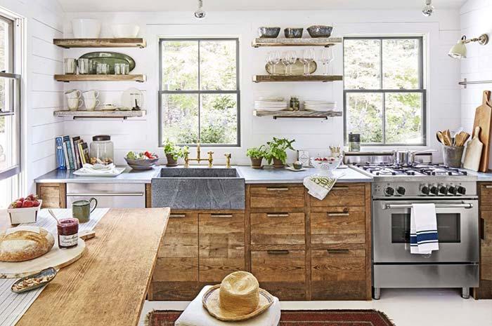 Uma cozinha para apreciar