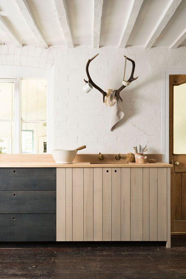 Cozinha rústica de fazenda