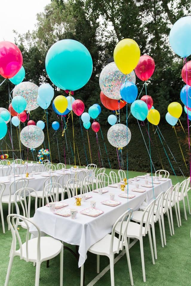 Um balão por convidado