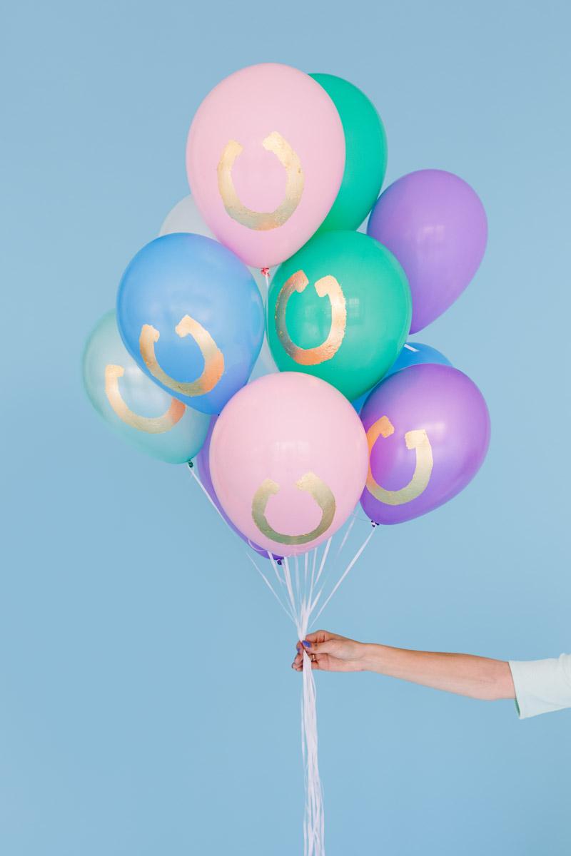 Maço de balões de hélio