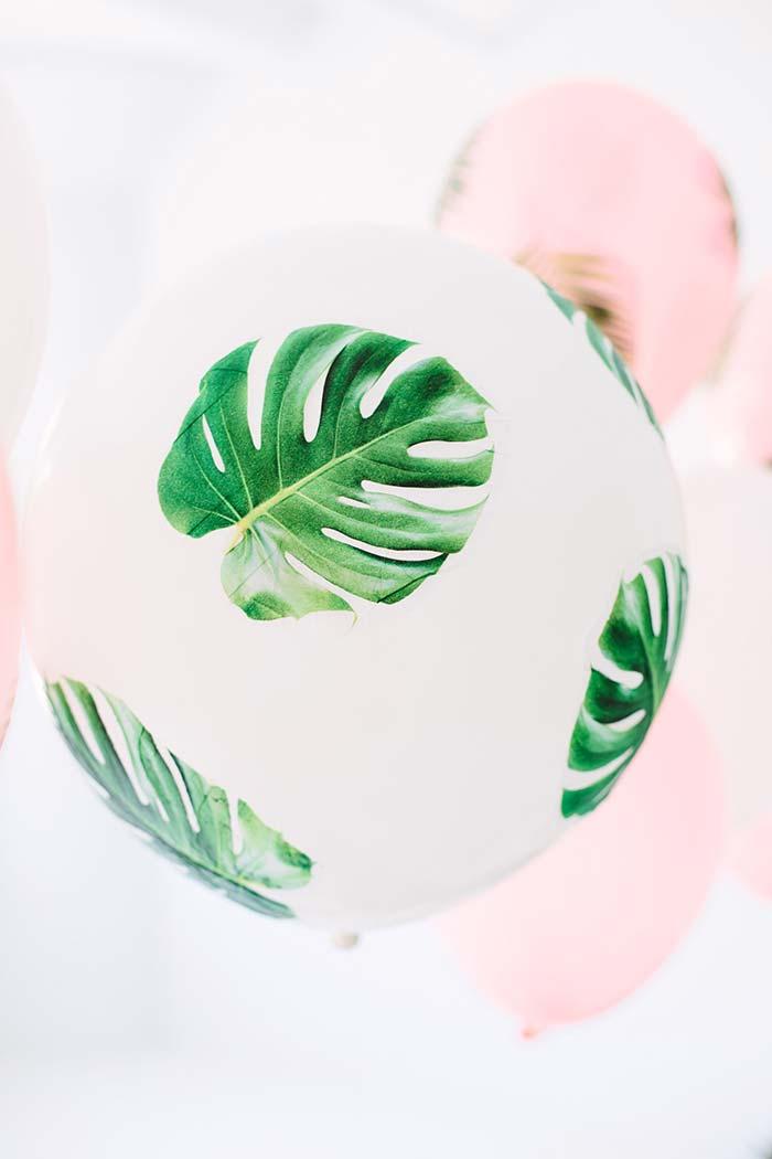 Costelas de Adão impressas no balão