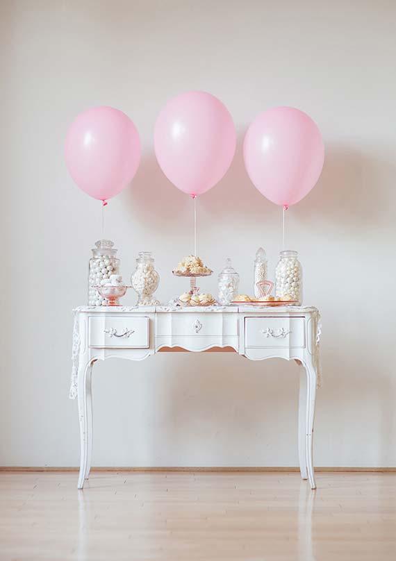 Se tem balão é porque tem festa