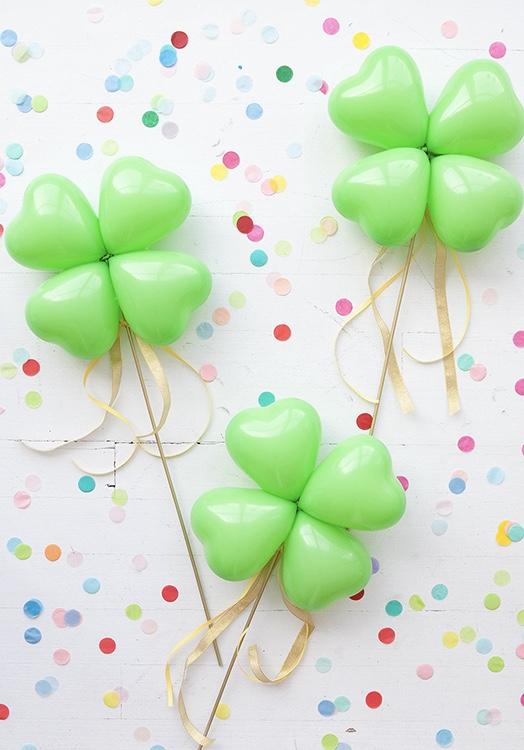 Balões para trazer sorte