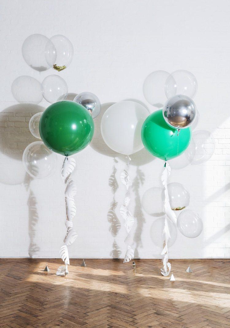 Balões flutuantes