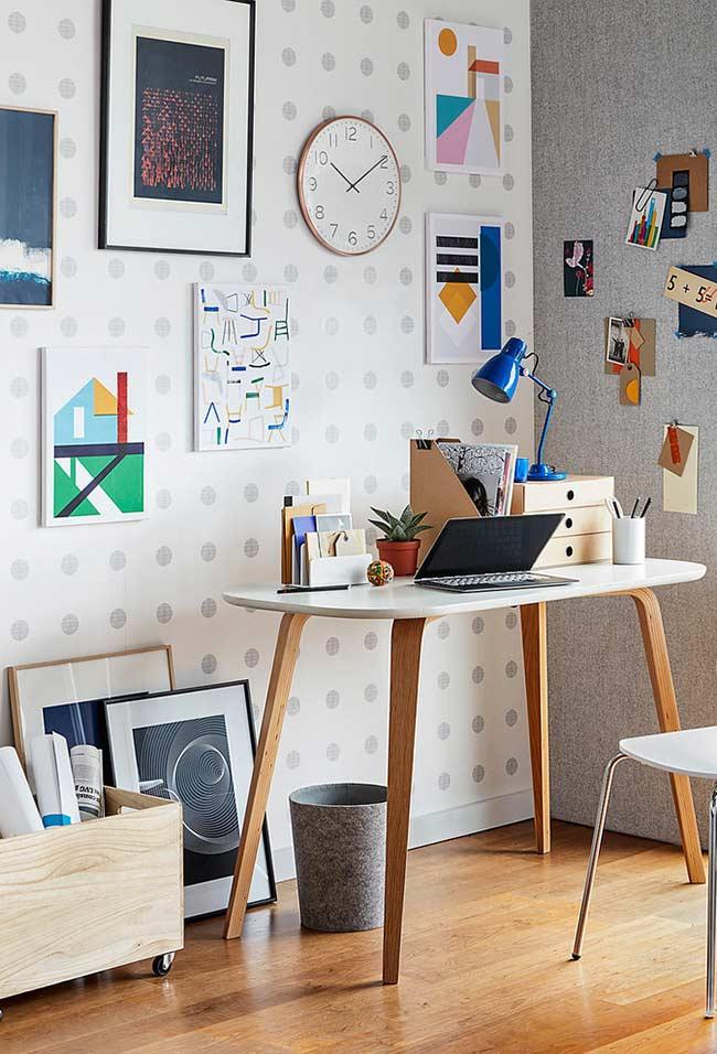 Desenho de escrivaninha contemporâneo