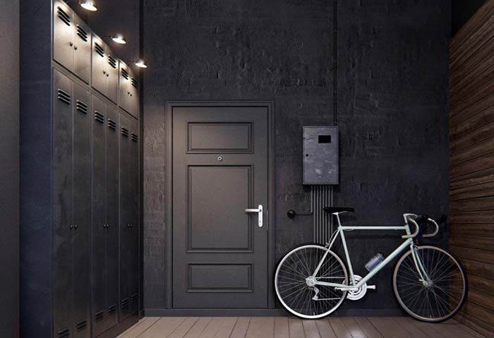 Hall de estilo urbano