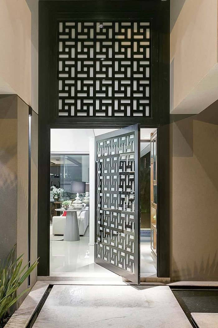 Uma porta que encanta