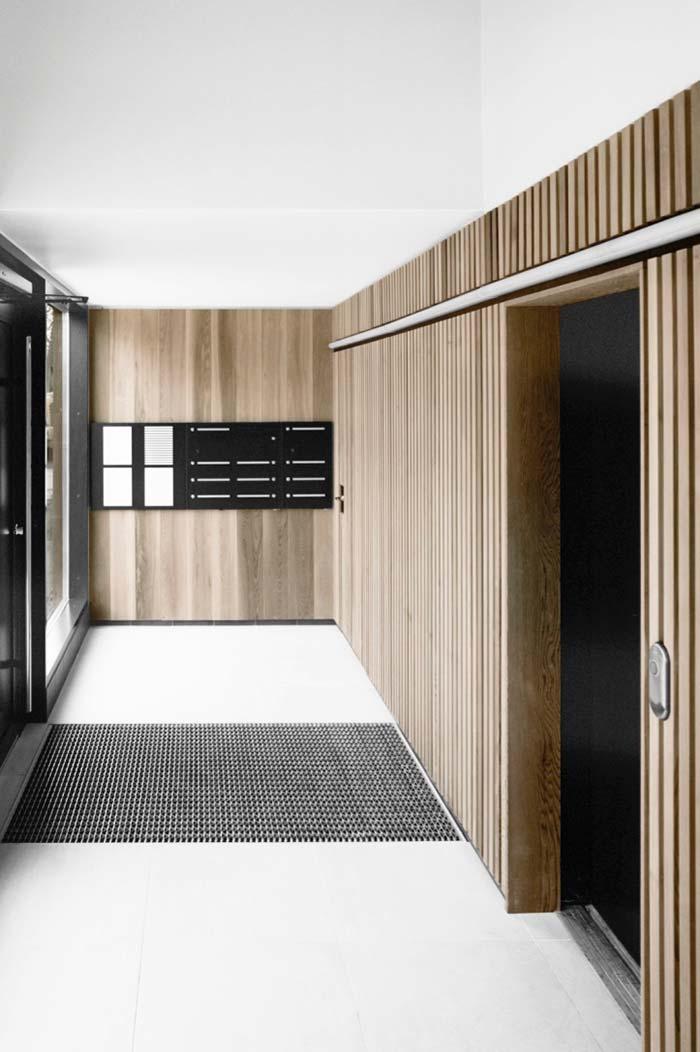 Hall de entrada minimalista