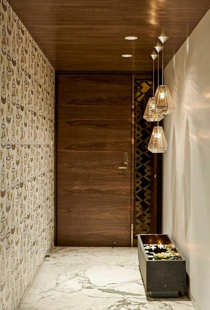 Modern Foyer Wall Designs : Hall de entrada modelos com ideias fotos e projetos