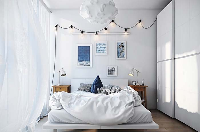 Branco iluminado
