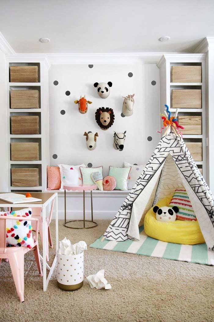 Sala de jogos perfeita para as crianças