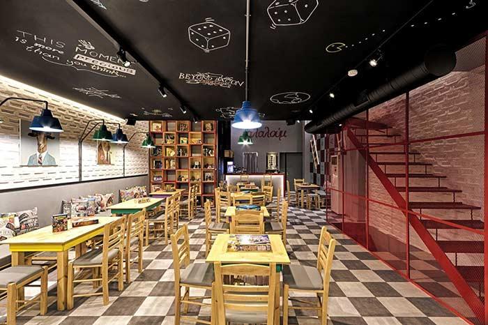 Lounge perfeito para restaurante