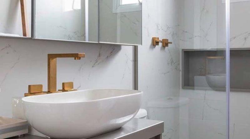 100 banheiros pequenos decorados de tirar o fôlego