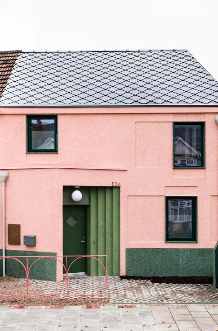 Cores retrô também são tendências para cores de casas