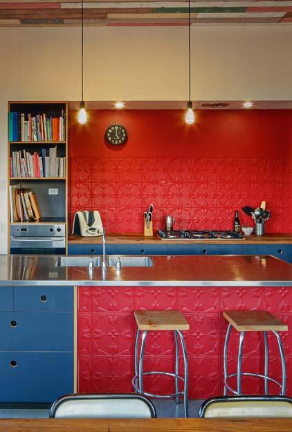 Azul e vermelho como uma combinação sem erros