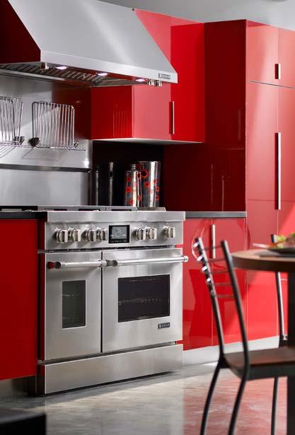 cozinha vermelha, funcional e super estilosa