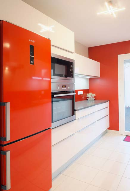 Vermelho alaranjado ou Tangerine Tango