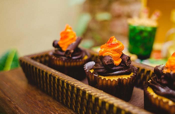 Cupcake na festa junina