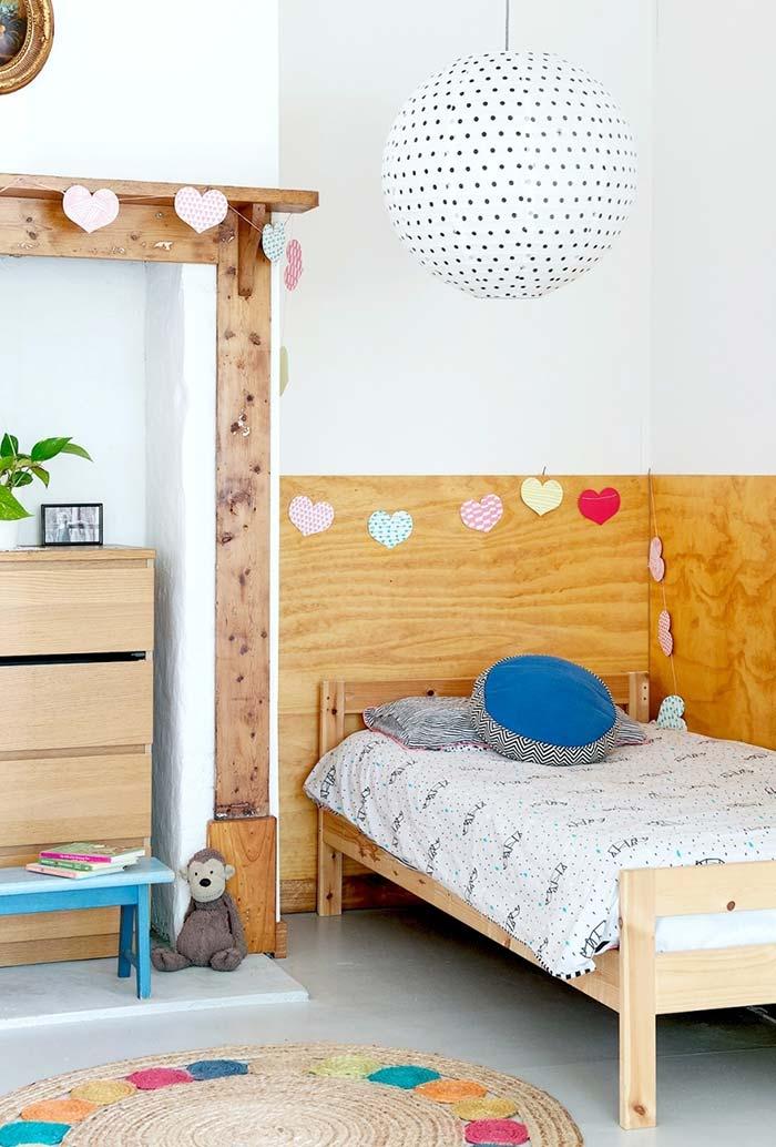 Decoração de quarto infantil simples e barato