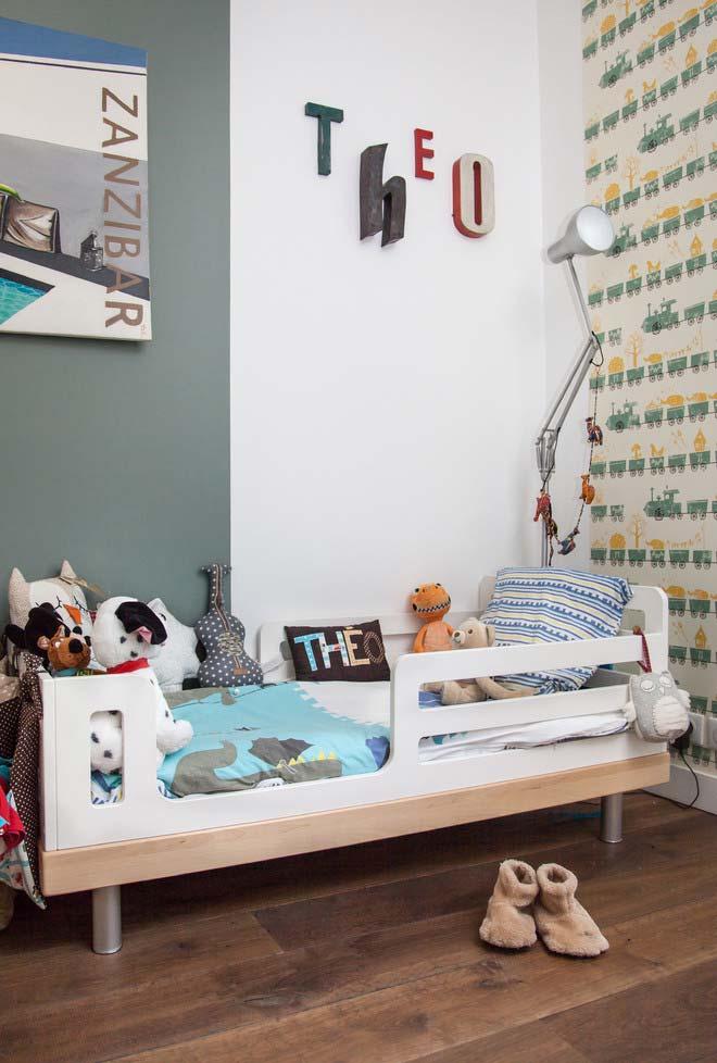 Decoração de quarto infantil mais que personalizada