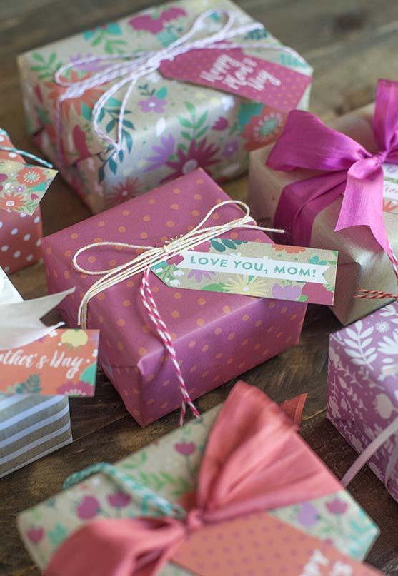 Bilhetinhos especiais para acompanhar o presente de dia das mães
