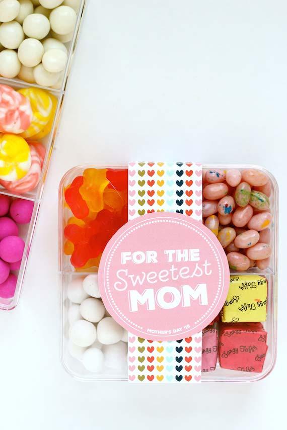 Para um doce de mãe