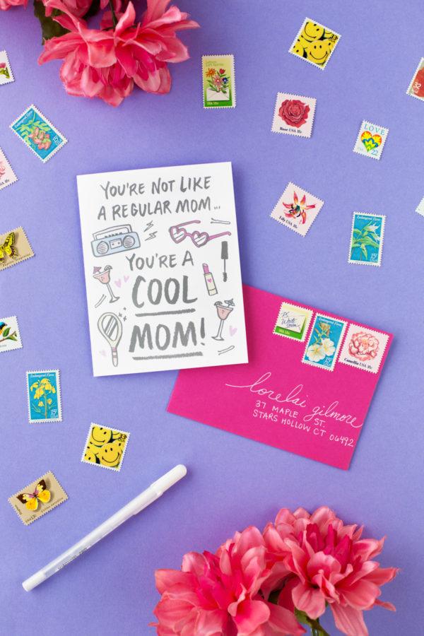 Cartinhas descontraídas para dar no dia das mães
